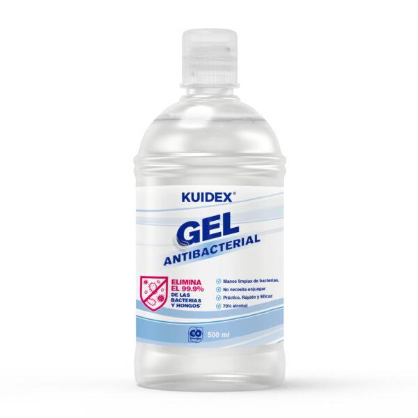 gel antibacterial de 500 mL
